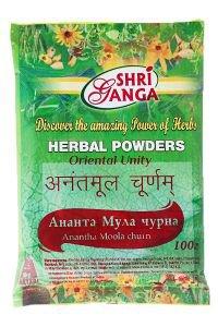 Ананта мула чурна шри ганга фармаси ananta moola churna shri Shri Ganga Pharmacy (Шри Ганга Фармаси) - Средства Аюрведы