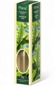 Ароматизатор воздуха с натуральным эфирным маслом зеленый чай elfarma эльфарма Elfarma (Эльфарма), 60 мл - Тростниковые ароматизаторы-диффузоры