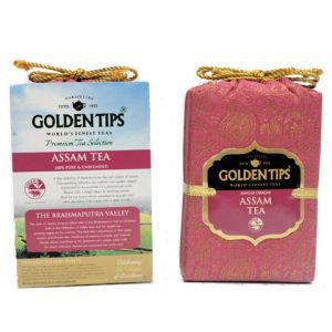 Фото - Golden Tips «Pure Assam Tea - Royal Brocade Bag», 100 г.