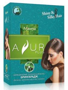Аюрведический порошок для волос брингарадж Ayur Plus (Аюр Плюс), 50 г. - Уход за волосами