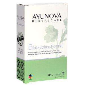 Комплекс для нормализации уровня сахара в крови диабетиум blutzucker-formel 60 капс., ayunova Ayunova (Аюнова) - Пищевые добавки