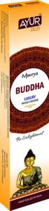 Благовония натуральные buddha, luxury masala incense, ayurplus аюрплюс Ayur Plus (Аюр Плюс), 20 г. - Благовония