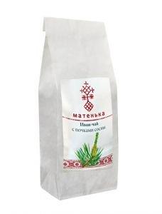 Чай из листа иван-чая с сосновыми почками  Матенька,  50г.Иван-чай, фиточаи<br>Почки сосны являются хорошими помощниками при лечении заболеваний верхних дыхательных путей, улучшает состав крови, востанавливают микрофлору полости рта.<br>