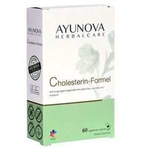 Комплекс для нормализации уровня холестерина и эластичности сосудов холестериниум cholesterin-formel 60 капс., ayunova Ayunova (Аюнова) - Пищевые добавки