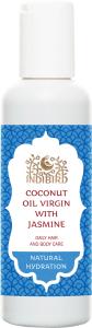 Масло кокосовое с жасмином coconut oil virgin with jasmine  Amritha,  150 мл. от Ayurveda-shop.ru