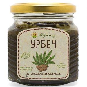 Урбеч из семян конопли Мералад, 230 г. - Урбечи (пасты из семян и орехов)