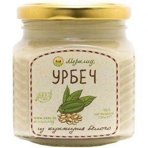 Урбеч из белого кунжута Мералад, 230 г. - Урбечи (пасты из семян и орехов)