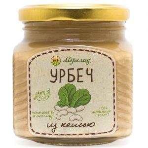 Урбеч из кешью Мералад, 230 г. - Урбечи (пасты из семян и орехов)