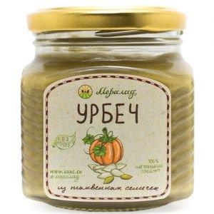 Урбеч из семян тыквы Мералад, 230 г. - Урбечи (пасты из семян и орехов)