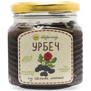 Урбеч из семян мака Мералад, 230 г. - Урбечи (пасты из семян и орехов)