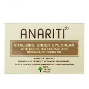Питательный крем для кожи вокруг глаз с экстрактом зеленого чая и маслом моринги  Anariti,  30 мл. от Ayurveda-shop.ru