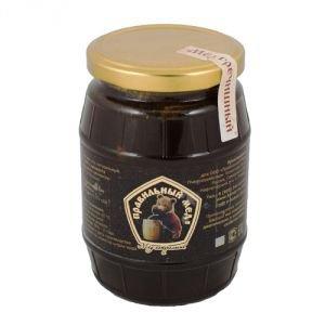Мёд гречишный, 500 г.Правильный Натуральный Мед<br>В<br>гречишной пыльце очень много питательных веществ. Мед из нее прекрасный<br>помощник при простуде, низком гемоглобине.<br>