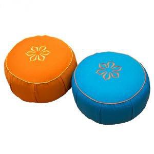 Подушка для медитации амрита 35х10 голубой Amrita Style - Подушки, болстеры