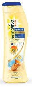Солнцезащитный лосьон для кожи dermoviva sun hydration sun lotion spf35 dabur Dabur (Дабур), 200 мл. - Уход за телом
