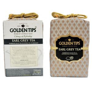 Фото - Golden Tips «Earl Grey Darjeeling Tea - Royal Brocade Bag», 100 г.