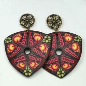 Серьги ягоды счастья   Fluroyana от Ayurveda-shop.ru