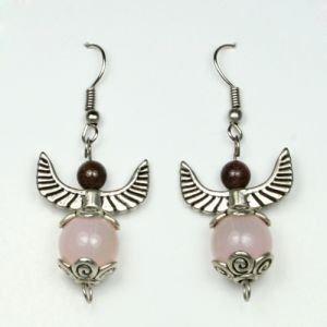 Серьги розовые мечты   Fluroyana от Ayurveda-shop.ru