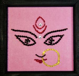 Символы индии: лицо невесты Kremma Glass - Предметы интерьера