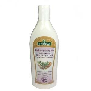 Увлажняющее молочко для тела c маслом жожоба, ши, кокоса & миндаля Karniva, 200 мл