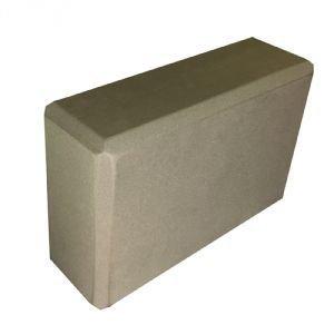 Блок опорный для йоги из eva-пены 22.5x15x7.5,  серый  Amrita Style от Ayurveda-shop.ru