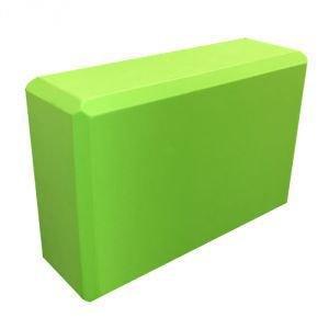Блок опорный для йоги из eva-пены 22.5x15x7.5,  салатовый  Amrita Style от Ayurveda-shop.ru