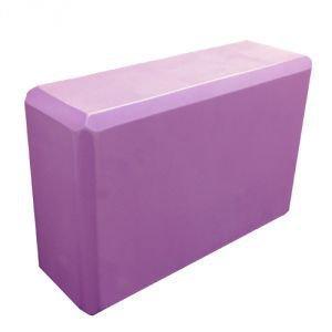 Блок опорный для йоги из eva-пены 22.5x15x7.5,  сиреневый  Amrita Style от Ayurveda-shop.ru