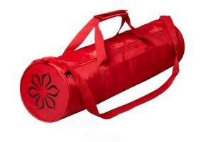 Сумка для йоги lavana красная Amrita Style - Для ковриков шириной 60 см.