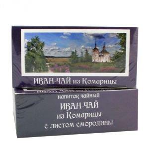 Иван-чай с листом смородины в фильтр-пакетиках Vegan Food, 15 пакетиков - Иван-чай, фиточаи