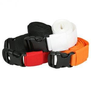 Ремень для йоги с пряжкой белый Amrita Style - Ремни, одеяла, стулья