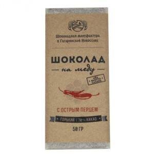 Горький шоколад на меду с острым перцем, 70 %, 50 г. от Ayurveda-shop.ru
