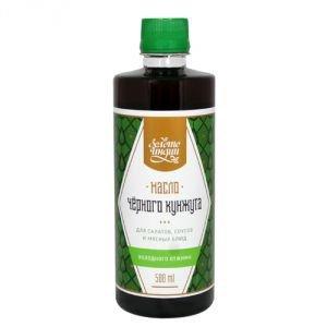 Масло черного кунжута холодного отжима Amritha (Амрита), 500 мл. - Пищевые масла