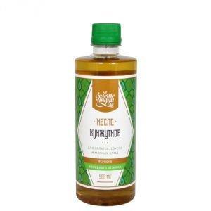 Золото Индии Кунжутное масло первого холодного отжима  extra virgin sesame oil  ,  500 мл.