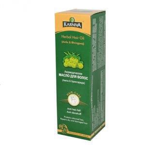 Масло для волос амла &брингарадж 100 мл.  Karniva от Ayurveda-shop.ru
