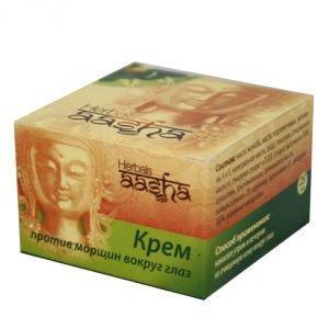 Крем против морщин вокруг глаз Aasha herbals, 25 г