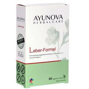 Комплекс для очищения и восстановления стурктуры печени гепатиум leber-formel 60 капс., ayunova Ayunova (Аюнова) - Пищевые добавки