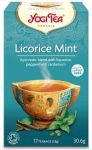 Yogi Tea «Licorice Mint» (Солодка и Мята)