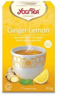 Yogi tea ginger lemon имбирь и лимон  Yogi Tea