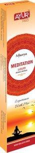 Благовония натуральные meditation, luxury masala incense, ayurplus аюрплюс Ayur Plus (Аюр Плюс), 20 г. - Благовония