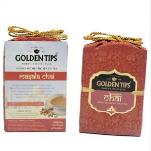 Golden Tips «Masala Chai -Royal Brocade Bag», 125 г.