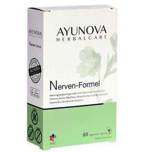 Комплекс для восстановления физической и умственной работоспособности нервиум nerven-formel 60 капс., ayunova Ayunova (Аюнова) - Пищевые добавки
