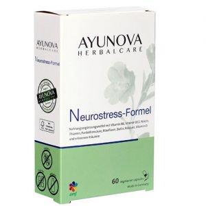 Комплекс для восстановления психоэмоционального баланса релаксиум neurostress-formel 60 капс., ayunova Ayunova (Аюнова) - Пищевые добавки