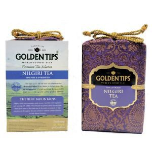 Фото - Golden Tips «Pure Nilgiri Tea -  Royal Brocade Bag», 100 г.