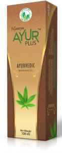 Аюрведическое масло для массажа голд  Ayur Plus (Аюр Плюс),  210 мл. от Ayurveda-shop.ru