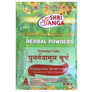 Пунарнава мула чурна шри ганга фармаси punarnava mula churnam shr Shri Ganga Pharmacy (Шри Ганга Фармаси) - Средства Аюрведы