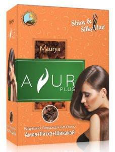 Аюрведический порошок для волос амла+ритха+шикакай Ayur Plus (Аюр Плюс), 50 г. - Уход за волосами
