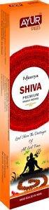 Благовония натуральные shiva, premium masala incense, ayurplus аюрплюс Ayur Plus (Аюр Плюс), 18 г. - Благовония