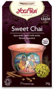 Yogi tea sweet chai мягкий чай  Yogi Tea