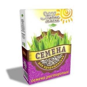 Семена расторопши для проращивания «живые семена», 250 г.Культуры для проращивания<br>Расторопша давно признана учеными как лечебное растение, оздоравливающее печень.<br>