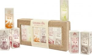 Golden Tips «6-in-1- Darjeeling, Assam, Nilgiri, Kangra, Dooars, Sikkim Teas», 300 г.