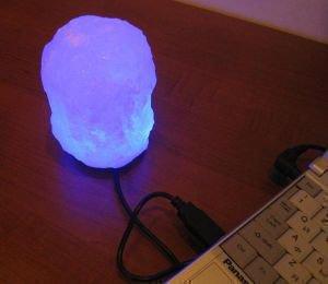 Соляная usb лампа скала  Wonder Life от Ayurveda-shop.ru